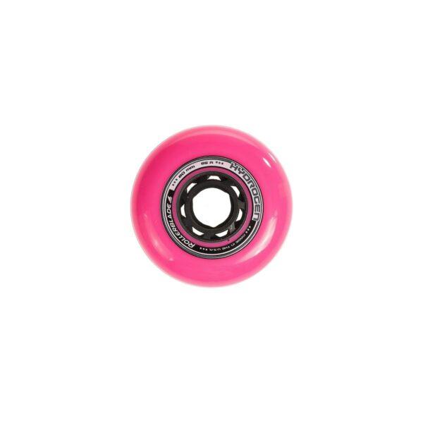 kółka do rolek hydrogen 80 mm 85 a różowe