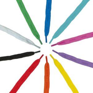 kolorowe sznurówki do rolek